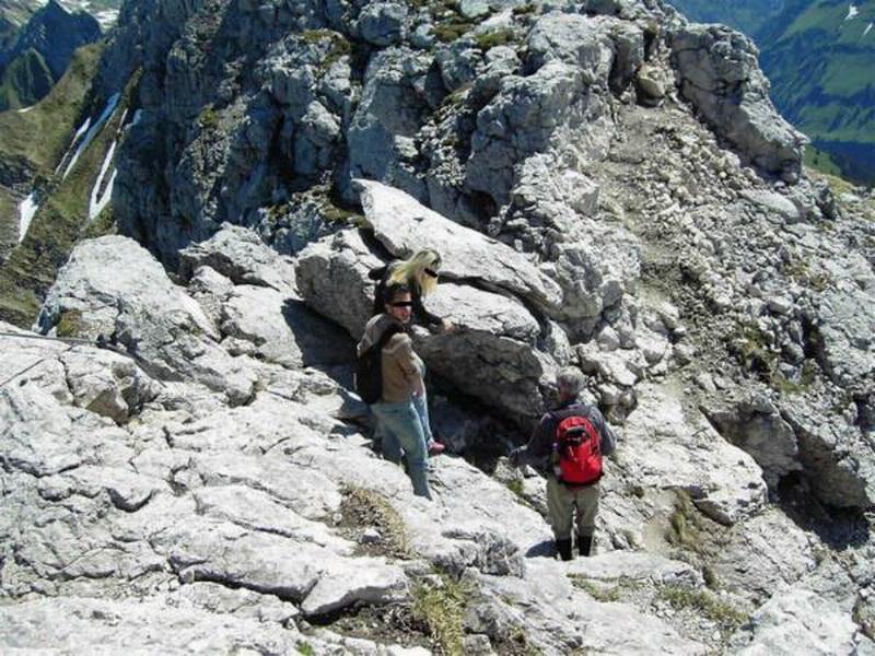 Klettersteig Immenstadt : Hindelanger klettersteig schnupperrunde