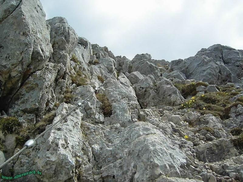 Friedberger Klettersteig : Friedberger klettersteig