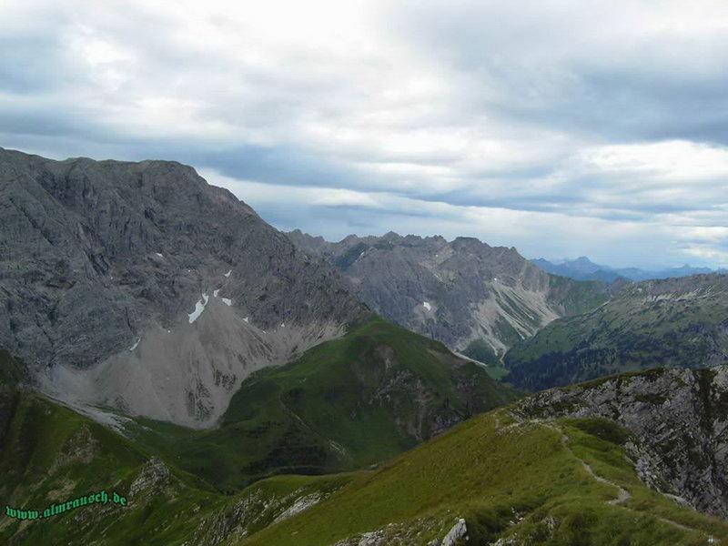 Hindelanger Klettersteig Ungesicherte Stellen : Tage hindelanger klettersteig