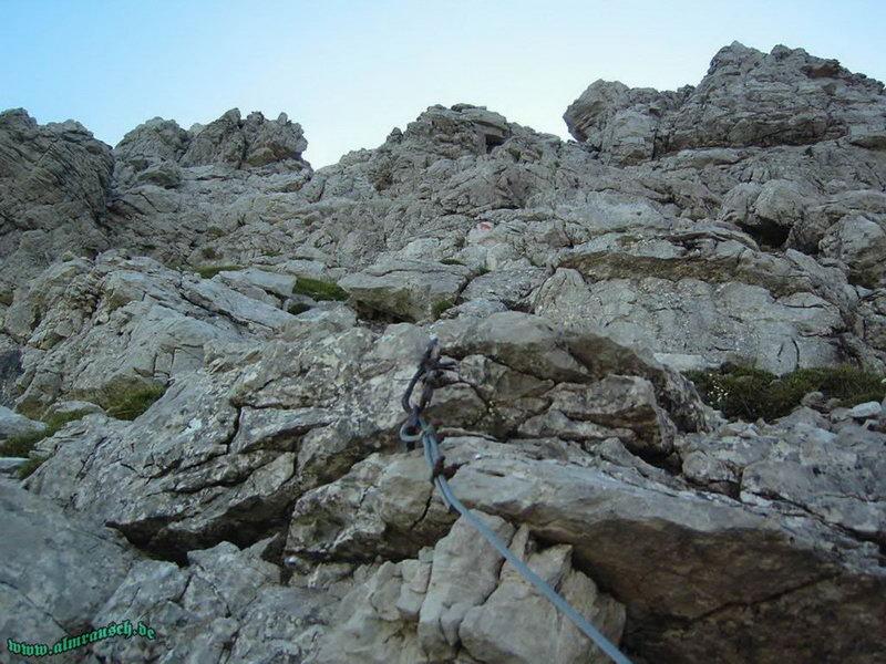 Hindelanger Klettersteig Ungesicherte Stellen : Mindelheimer klettersteig alle fakten zur tour in den allgäuer alpen