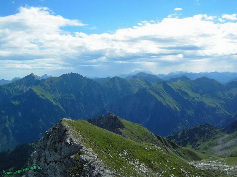 Hindelanger Klettersteig Ungesicherte Stellen : Klettersteig hindelanger bis zum dritten ausstieg