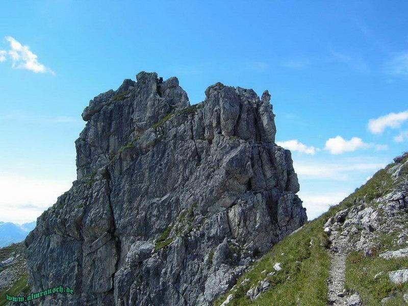 Hindelanger Klettersteig Ungesicherte Stellen : Peter s bergseiten hindelanger klettersteig